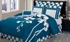 DR International Orchidea Reversible Comforter Set (6-Piece)