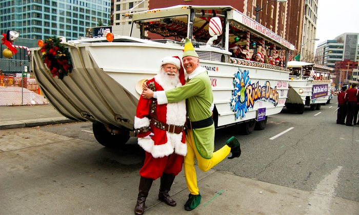 Ride the Ducks of Seattle - Seattle Center: Holiday Duck Tour for Two, Four, Six, or Eight from Ride the Ducks of Seattle (Up to 50% Off)
