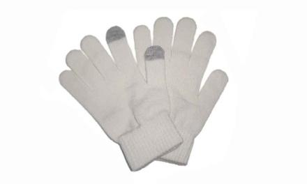 Winter-Handschuhe für Touchscreen-Smartphones und Tablet-PCsin Weiß (Munchen)