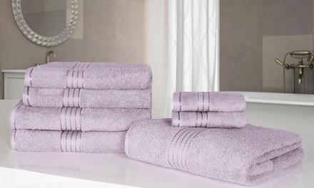 7-teiliges Handtuch-Set in der Farbe nach Wahl