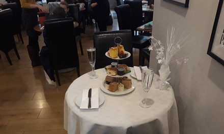 Afternoon Tea with Optional Glass of Prosecco or Bottomless Prosecco for Two or Four at Aroma Café Bar *