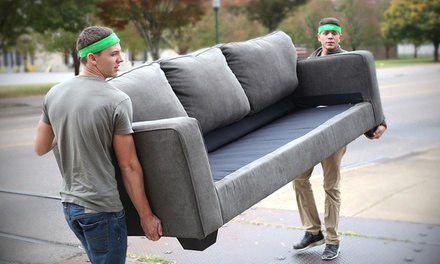 60 or 90 Minutes of Moving Services with Two Movers from Bellhops (Up to 50% Off)
