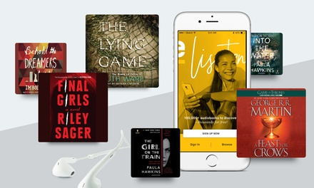 Free Two-Month Membership with Two Best-Selling Audiobooks from eStories