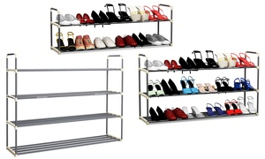 Home-Complete Tiered Shoe Rack
