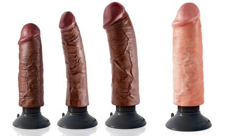 "Pipedream Realistic Poseable Vibrating 6""-8"" Dongs 9447a7ea-b278-42f2-883f-5cec63756b69"