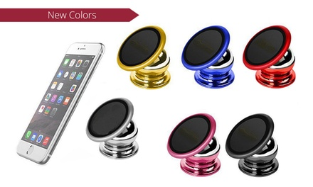 360° Magnetic Smartphone Car Mount Holder: One $9.95 or Two $16.95