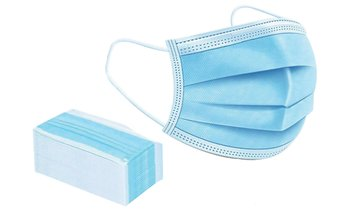 50-Pack Disposable 3-Layer Masks