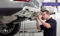 Car Service with Diagnostic Check and Optional MOT at Cromptons Automotive (72% Off)