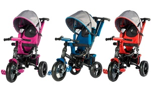 Evezo Kailin Kids' 4-in-1 Convertible Stroller and Trike