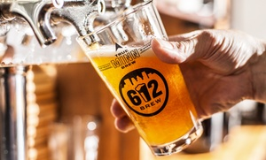 612 Brew: Beer Package for Two or Four, or Five Groupons Good for Two Pints at 612 Brew (Up to 47% Off)