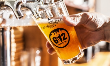 Up to 47% Off Beer Packages at 612 Brew