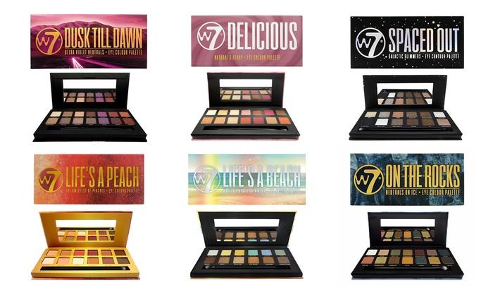 Buy W7 - Lifes a peach Eyeshadow palette | Maquibeauty