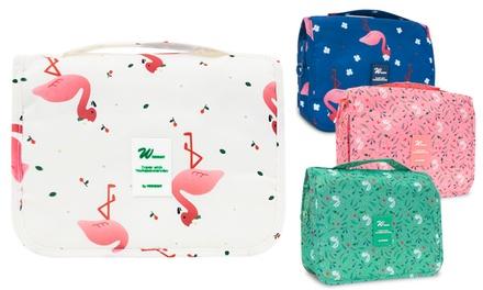 Flamingo Travel Toiletry Bag