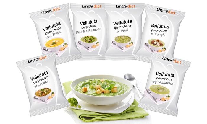Vellutate proteiche Lineadiet