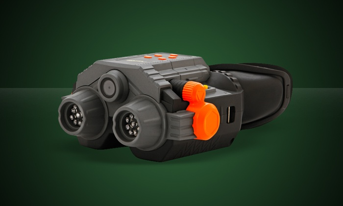 Nerf Night-Vision Goggles: One Pair of Nerf Night-Vision Goggles with Camera and Camcorder. Free Shipping and Returns.