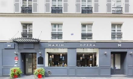 Paris : chambre double Classique ou Supérieure 4* avec petit-déjeuner