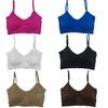 Women's Plus-Size Padded Scoopneck Wire-Free Bralettes (6-Pack)