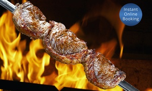 The Grill House Southport: AYCE Brazilian BBQ Buffet for One ($29), Two ($58) or Four People ($116) at The Grill House Southport (Up to $180 Value)