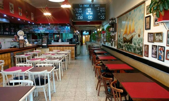 La Pintita - Lomas de  Zamora: Desde $419 por cena para dos o cuatro con entrada + plato principal + postre + copa de vino en La Pintita