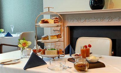 image for Afternoon Tea or Lunch with Bubbly for Two at The Montcalm London Marble Arch, Mayfair (Up to 53% Off)