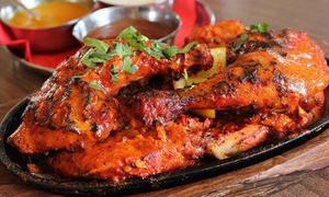 Curry and Grill: Menú indio para 2 con aperitivo, entrante, principal, acompañamientos, postre y bebida desde 22,99 € en Curry and Grill
