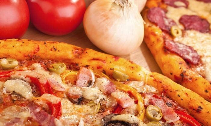 Mama Gina Pizza - Valley Stream: $10 for $15 Worth of Pizza — Mama Gina Pizza