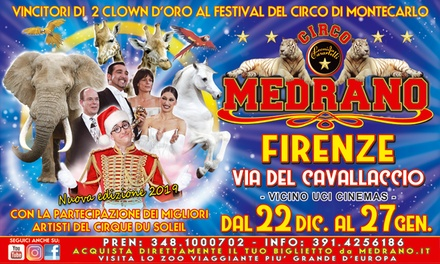 Circo Medrano, Firenze