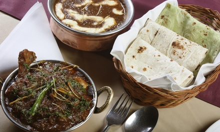 Up to 40% Off food and drink at Mahal Kita Indian Cuisine