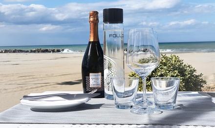 ⏰ Menu di pesce con vino al mare a 64,90€euro