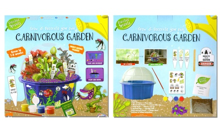 RMS Grow and Decorate Your Own Carnivorous Garden