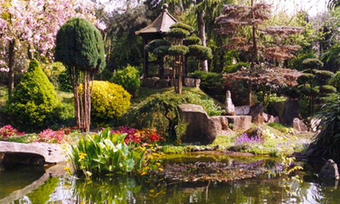 Pure Land Meditation Centre and Japanese Garden - Nottingham: Pure Land Japanese Garden: Entry For Two Adults from £6 (Up to 50% Off*)