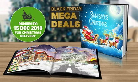 .49 for a Personalised Children's Christmas Storybook in Soft or Hard Cover Don't Pay Up to $79.98