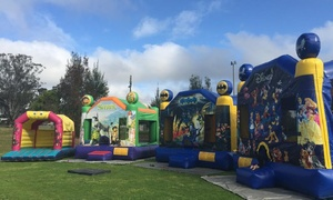 Funtime Jumping Castles & Supplies: Jumping Castle - Four Hours ($119), Full Day ($145), or Overnight Hire ($199) with Funtime Party Hire ($400 Value)