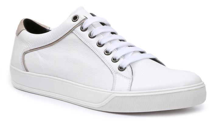 GBX Gutt Leather Fashion Sneakers : GBX Gutt Leather Fashion Sneakers (Size  8)