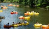 Midwest Adventures BYOB Lazy River Tubing - Charter Loading Zone: Midwest Adventures BYOB Lazy River Tubing with Round-Trip Transportation, Pavilion, and Taco Bar (July 8–August 27)