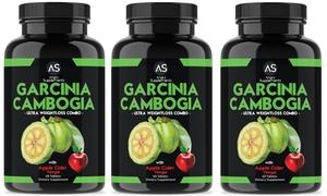 Garcinia + Apple Cider Vinegar Weight Loss Combo (1-, 2-, or 3-Pack)
