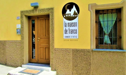 Val d'Aosta: fino a 3 notti con trattamento a scelta per 2 persone in camera matrimoniale presso La Maison De Franco