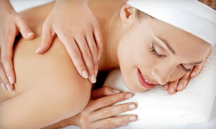 Hollywood Hair and Nails - Salem: $52 for a Spa Package with a Massage, Mani-Pedi, and Paraffin Treatment at Hollywood Hair and Nails (Up to $105 Value)