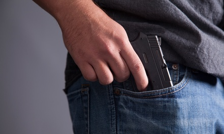 Concealed-Weapons Class for One or Two at R K Tactical (40% Off)