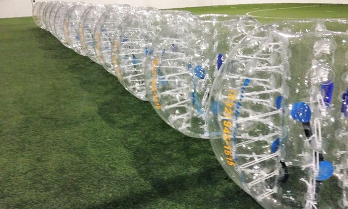 BubbleTime - Pasadena: $169 for One Hour of Bubble Soccer for Up to 15 at BubbleTime ($300 Value)