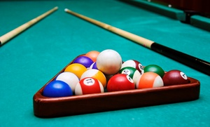 Gate City Billiards Club: Two-Hour Rental of Private Billiards Room or Open Billiards Table at Gate City Billiards Club (50% Off)