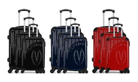 Conjunto de 3 maletas Vertigo con 4 ruedas y colores a elegir