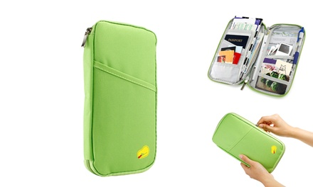 One, Two, Three or Four Passport and Document Travel Organisers