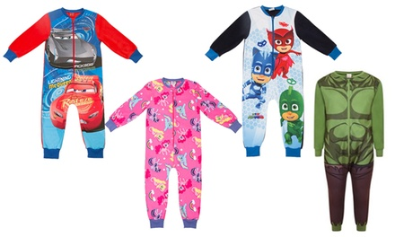 Character MicroFleece Onesies in Choice of Design