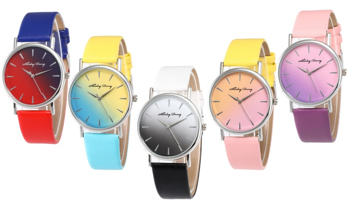 One or Two Rainbow Band Watches