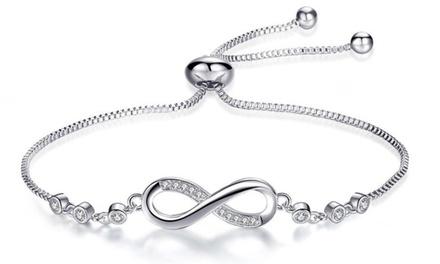 1 o 2 braccialetti dell'amicizia con cristalli