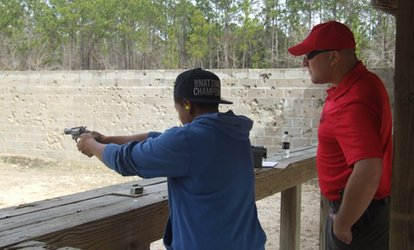 image for Concealed Carry and Basic Handgun Safety Course for One or Two at Southeast Defense Training (Up to 44% Off)