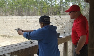 Up to 37% Off Concealed Carry and Basic Handgun Safety Course at Southeast Defense Training, plus 6.0% Cash Back from Ebates.