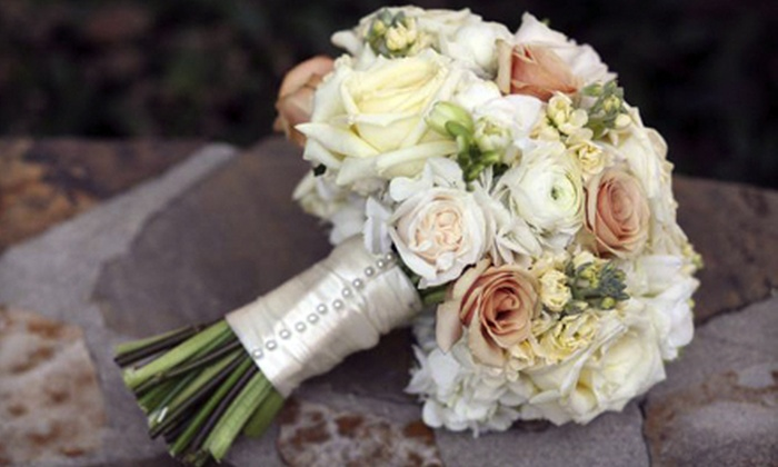 Distinctive Flowers by Angelique - Huntersville: Wedding Floral Packages from Distinctive Flowers by Angelique (Up to 54% Off). Two Options Available.