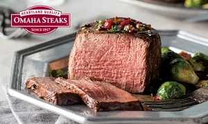 Up to 76% Off Gourmet Gift or Holiday Packs from Omaha Steaks at Omaha Steaks, plus 6.0% Cash Back from Ebates.